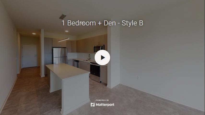 1 Bedroom + Den - Style B