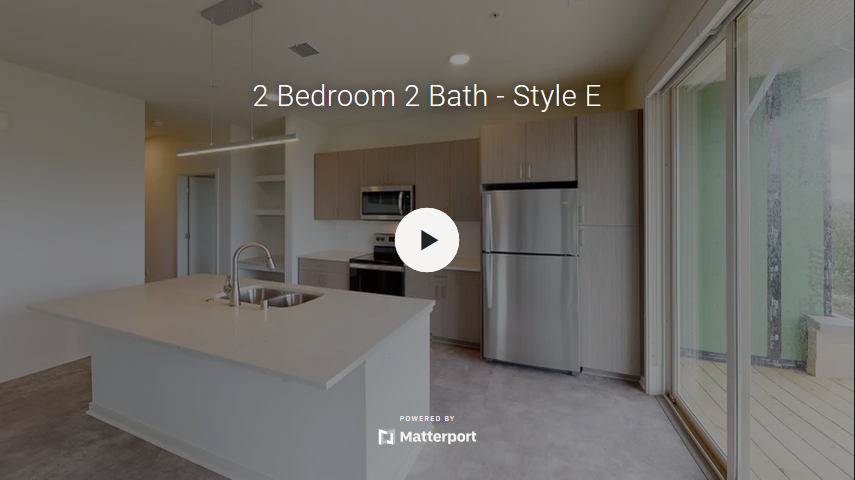 2 Bedroom 2 Bath - Style E