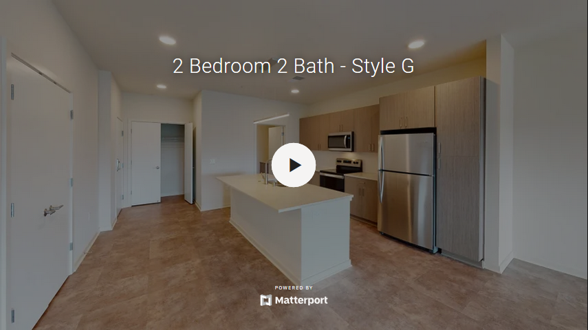 2 Bedroom 2 Bath - Style G