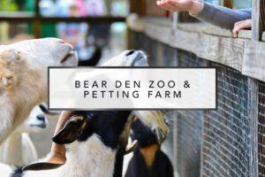 Bear Den & Zoo Petting Farm